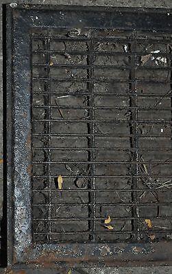 Vintage Floor / Wall Heat Register Metal Vent  Antique Grate 2