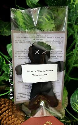 VOODOO DOLL Wicca Witchcraft Poppet Hoodoo Magic Ritual Spell Vodou Pagan Curse 5