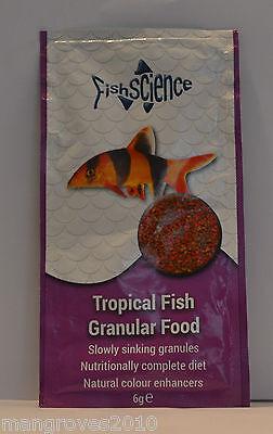 Fish Science Tropical Fish Granular Food 6g 2