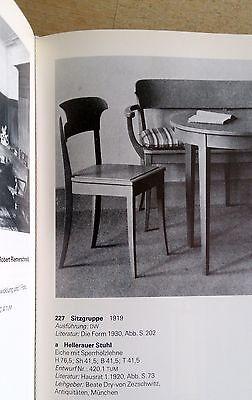 Richard RIEMERSCHMID Hellerau Chair Deutscher Werkstatten Art Nouveau Jugendstil 3
