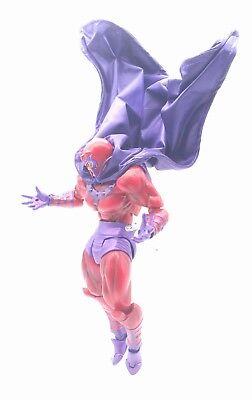 No Figure SU-C-MG-PP Revoltech Magneto Wired Purple cape for Marvel Legends