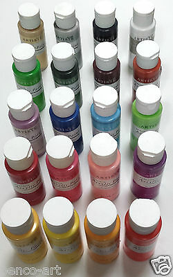 Docraft Artiste Craft Acrylic Paint in 59ml Bottles Choose From 60 Matt Colours 4