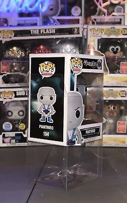 "10 FUNKO POP! BOX PROTECTORS FOR 4"" VINYL FIGURE .50mm Super Thick CLEAR CASES 3"