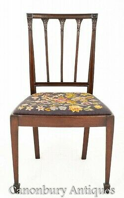 Mahogany Hepplewhite Dining Chairs Set 8 Antique Diners 3