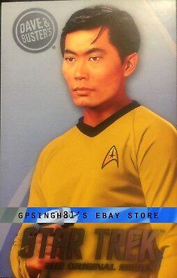 Star Trek Original Series (TOS) Coin Pusher Single Cards Tribbles, Dave & Buster 11