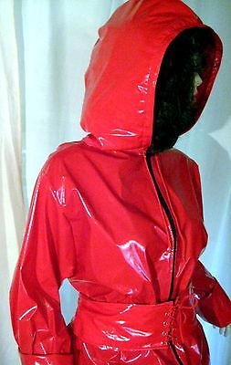 Lackanzug, Hosenanzug,Saunaanzug, Zweiteiliger Anzug,Vinylsuit,Saunasuit 7