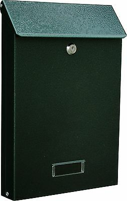 Sd Wall Mounted Steel Post Box External Internal With A4