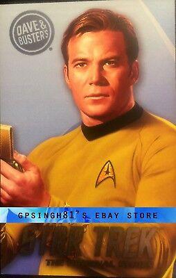 Star Trek Original Series (TOS) Coin Pusher Single Cards Tribbles, Dave & Buster 5