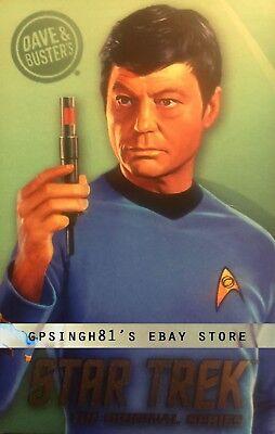 Star Trek Original Series (TOS) Coin Pusher Single Cards Tribbles, Dave & Buster 7