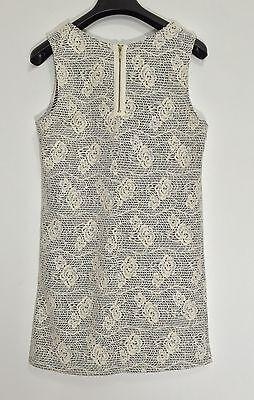 Promod abito vestito corto fiori rose dress kleid manica corta tg S hot T802 6