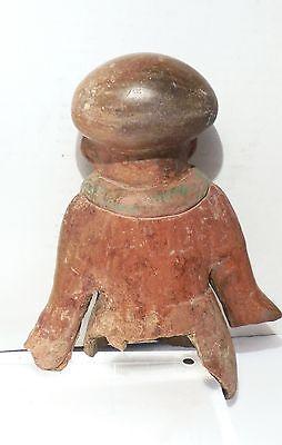 Pre Columbian Ecuador Female Fragment Authentic Jama - Coaque Pottery 2
