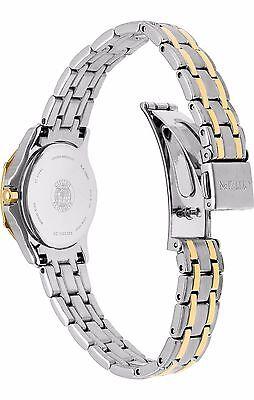 Citizen Eco-Drive Women's EW2364-50A Two-Tone Diamond Bezel Bracelet 26mm Watch 6