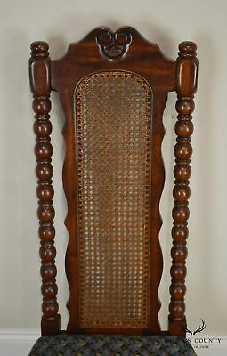 American Drew Bicentennial Edition Tree of Promis Caned Back Slipper Chair 7