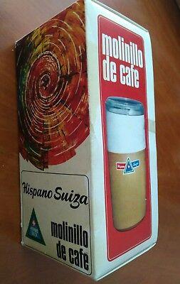 Hispano Suiza VINTAGE molinillo café ELÉCTRICO VER Fotos. Más de 70 años y nuevo 7