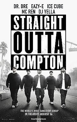 New Straight Outta Compton Dr Dre Ice Cube Music Movie Print Premium Poster 2