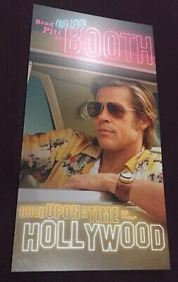 ONCE UPON A TIME IN HOLLYWOOD 3 Odeon Promo Cards - Quentin Tarantino's 9th Film 4