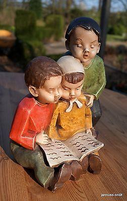 Hermosa Achatit Figura 3 Cantante Niños Exclusivo Künstlerarbeit 3