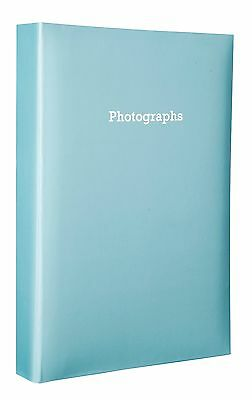 Large Blue Memo Slip In Photo Album 300 6 x 4 Photos