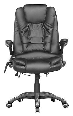 WestWood Heated Massage Office Chair – Leather Gaming Recliner Swivel Computer 3