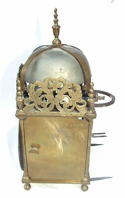 Hook and Spike Lantern Clock in Manner of Antique 16th / 17th Lantern Clock 5
