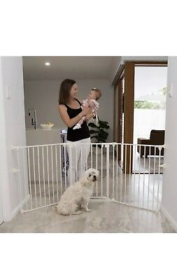 Perma Child Playpen Safety 3 in 1 Barrier Gate Up to 3.7m Long Fits 72cm - 370cm 3