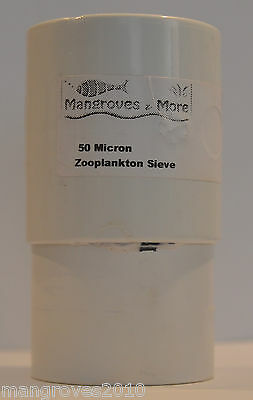 Zooplankton Medium Sieve Set 50-125-250-Micron For Copepods Rotifers Brineshrimp 2