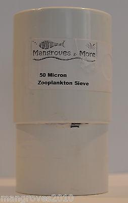 Zooplankton Small Sieve Set 50-125-250-Micron For Copepods Rotifers Brineshrimp 2