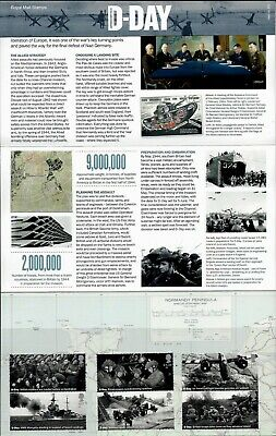 Gb 2019 Mint D-Day 75Th Presentation Pack 572 Stamps Sheet Retail Booklet Pm67 2