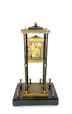 French Style Falling Gravity Driven Bronze Industrial Elevator Industrial Clock 4