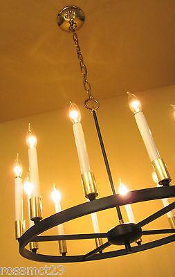 Vintage Lighting 1970s mod chandelier by Progress 2