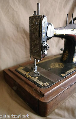 Singer Sewing Machines Antiques Vintage 1903 Hand Crank 7