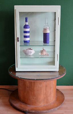 Alter ORIGINAL  Arztschrank Metallvitrine  Hängenschrank Design Möbel 12