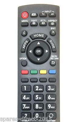 Replacement PANASONIC N2QAYB000830 TV Remote TX-L32EN63 TX-L42E6EK TX-50AS500Y 2