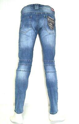 SEVEN STAR GIGOLO TWO Biker Boots Cut ViP Jeans g 27//32