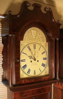"Antique Mahogany "" Tamsworth"" Automation Zodiac Longcase / Grandfather Clock 4"