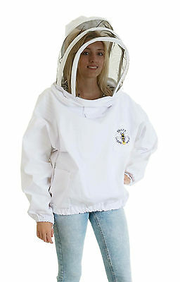 Buzz Beekeepers Bee Jacket/Tunic  (Pullover style with fencing veil) - ALL SIZES 2