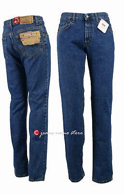 Pantalone 5 tasche cotone denim Carrera 700 jeans uomo Regular Fit Straight Legs 2