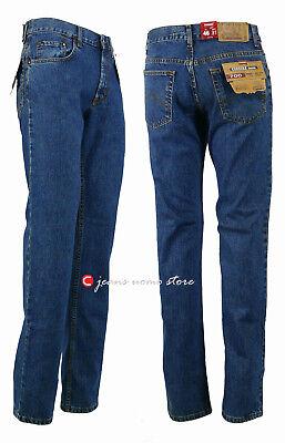 Pantalone 5 tasche cotone denim Carrera 700 jeans uomo Regular Fit Straight Legs 3