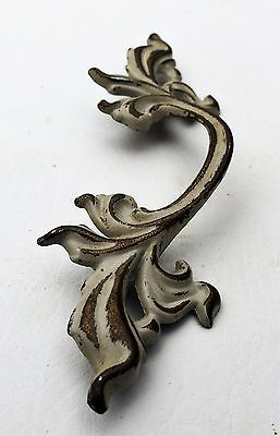 "Vintage Chic French Provincial Drawer Pull Antique Hardware 3"" on center 5"