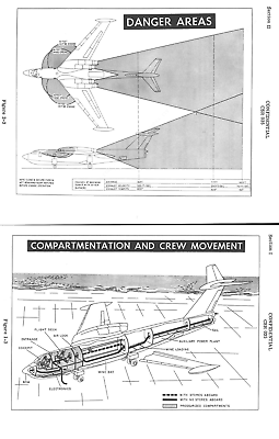 MARTIN SEA MASTER P6M BLUEPRINT FACTORY PLANS rare period flying boat 1950's