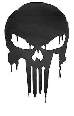 C5 CORVETTE PUNISHER BLOODY SKULL Decal  Sticker  buy 2 get 1 free