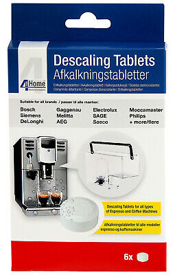 6 x Cleaning Descaling Tablets for Bosch Neff & Siemens Coffee Machine Makers 8