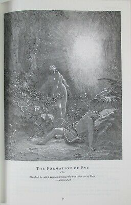 NEW KJV Holy Bible King James Version Illustrated By Gustave Dore Leather Bound 7