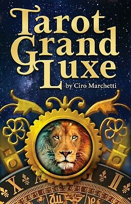 Tarot Grand Luxe Cards Deck Us Games Systems Ciro Marchetti Esoteric Telling New 2