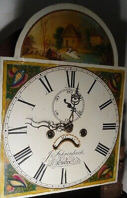 "Antique ""  Automation  Swan  ""  Exeter  Grandfather / Longcase Clock 2"