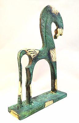 Ancient Greek Bronze Museum Statue Replica Of A Geometric Era Horse Collectable 3
