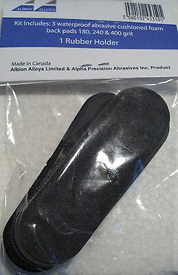 Albion Alloys 350 - Flexible Detail Sanding Kit - 100% Waterproof New Pack 2
