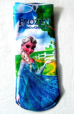 Frozen Ankle Socks - for Girls - 4 DESIGNS - NEW 6