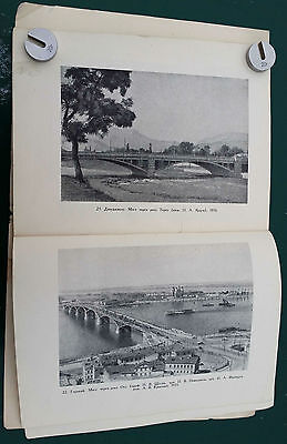 1949 USSR Russia Soviet Architecture BRIDGES and EMBANKMENTS Illustrated Book 8