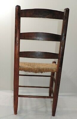 Hitchcock Chair Rush Seat With Stenciling 1930-1940S 8